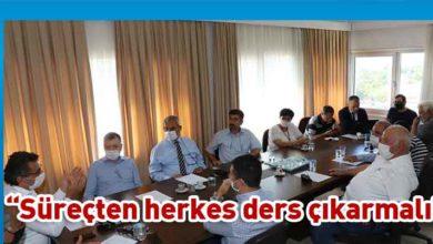 Photo of Erhürman: CMC'de bilimsel veriler ışığında hareket edilmeli