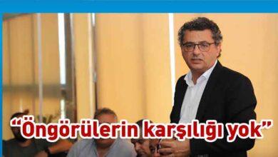 Photo of Erhürman: Yeni paket ciddiye alınabilecek bir çalışma değil