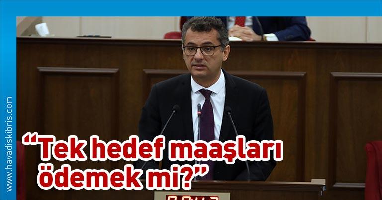 """Cumhuriyetçi Türk Partisi Genel Başkanı Tufan Erhürman'da KKTC-TC İktisadi ve Mali İşbirliği Protokolü konusunda, söz alarak, """"İmzalanan metin muhalefetle"""