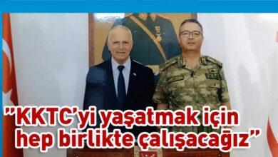 Photo of Töre, Tuğgeneral Er'i ziyaret etti