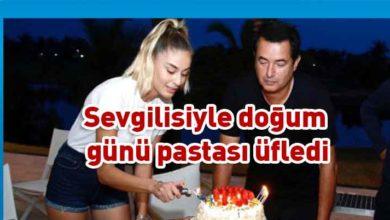 Photo of Acun Ilıcalı, doğum gününü kendisinden 30 yaş küçük olan sevgilisiyle kutladı
