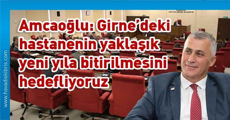 Maliye Bakanı Olgun Amcaoğlu