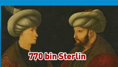 Photo of İstanbul Büyükşehir Belediyesi Fatih Sultan Mehmet'in portresini 6,5 milyon liraya satın aldı