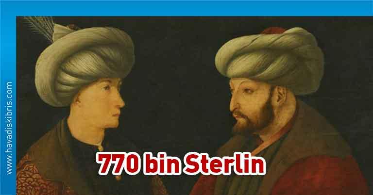 İstanbul Büyükşehir Belediyesi, İBB, National Gallery, Fatih Sultan Mehmet'in orijinal portresi, 770 bin sterlin, satın aldı