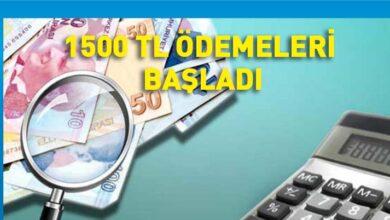 Photo of Mayıs ayına ait Bin 500 TL ücret desteği ödenmeye başlandı