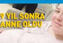 Photo of Derya Sert rahim naklinden 9 yıl sonra anne oldu