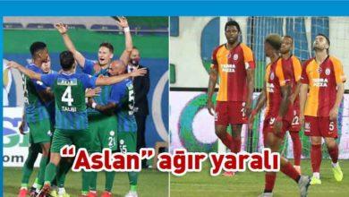 Photo of Galatasaray'a Rize şoku
