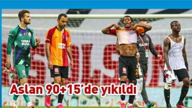 Photo of Galatasaray zirveden uzaklaşıyor
