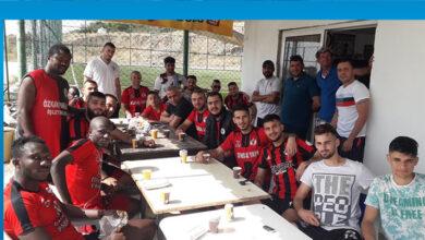 Photo of Hamitköy futbolcularına ciğer partisi verdi