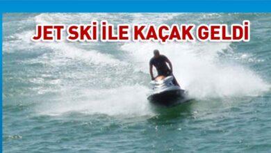 Photo of Taşucu'ndan adaya Jet Ski ile geldi
