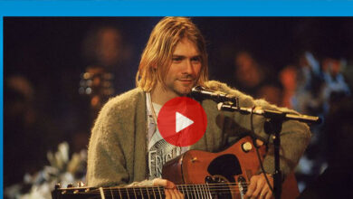 Photo of Kurt Cobain'in gitarına rekor fiyat