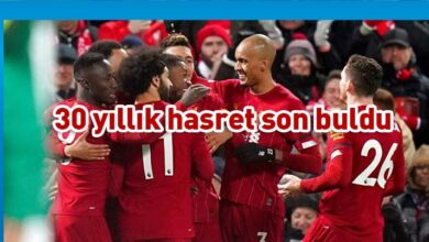 Photo of Premier Lig'de şampiyon Liverpool
