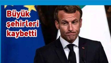 Photo of Fransa'da Macron'un partisi yerel seçimlerde ağır yenilgi aldı