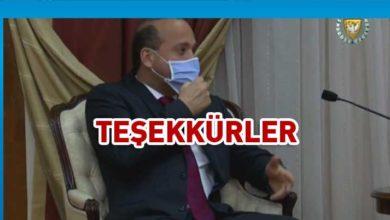 Photo of Özmerter'e teşekkür plaketi verildi