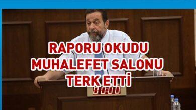 Photo of Denktaş raporu okudu muhalefet salonu terk etti