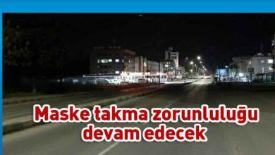 Photo of Gece sokağa çıkma yasağı bugünden itibaren kalkıyor
