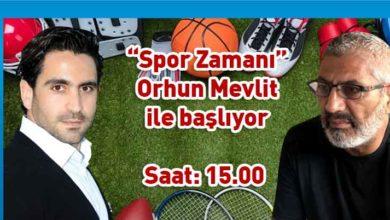 """Photo of """"Spor Zamanı""""nın ilk konuğu Orhun Mevlit olacak"""
