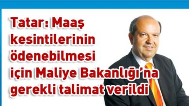 Photo of Tatar: Türkiye ile yapılan Mali İşbirliği anlaşmasıyla birlikte bütçede bir rahatlama oldu