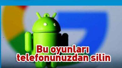 Photo of Android kullanıcılarına uyarı