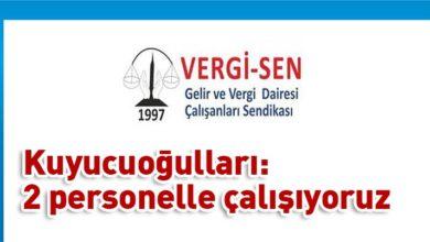 Photo of VERGİ-SEN'den grev uyarısı