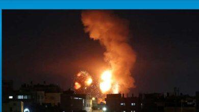 Photo of İsrail savaş uçakları Gazze'ye hava saldırısı düzenledi