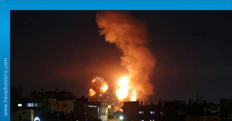 İsrail gazze bombalama