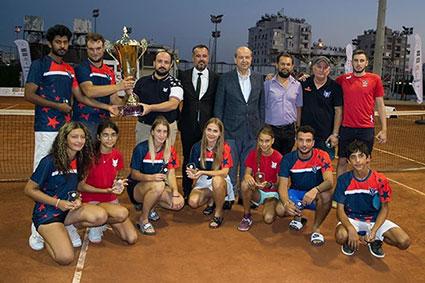 Girne Amerikan Üniversitesi, Tenis Takımı, Kuzey Kıbrıs Tenis Federasyonu, Nicosia Motors Tenis Ligi Play-Off Final Maçı, Gazimağusa Belediyesi, Lefkoşa KKTF tesisleri, GAÜ Tenis Takımı