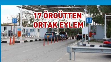 Photo of 17 örgütten eylem