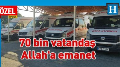 Photo of Ambulans var hemşire yok
