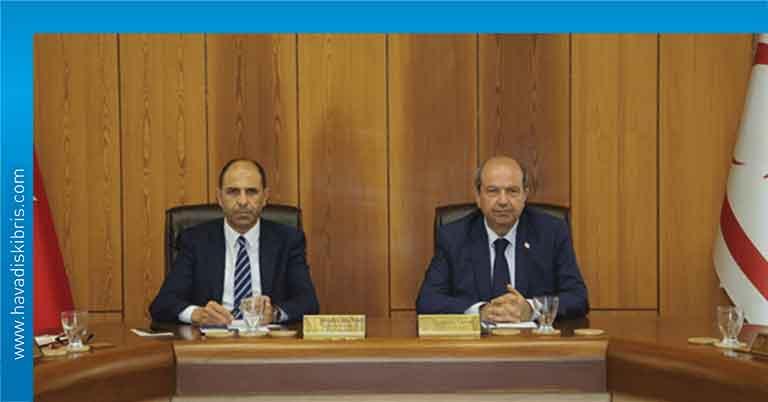 Bakanlar Kurulu, toplantı, Başbakan Ersin Tatar