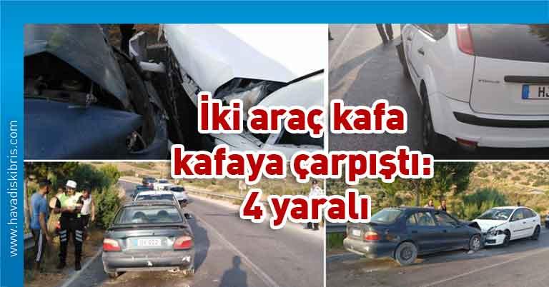 çarpışma, kaza, Girne, Tatlısu, Polis Basın Subaylığı,