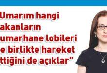Photo of Derya: Kumarhane lobisi ile hareket eden UBP-HP hükümetine şahsi önerilerimdir