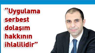 Photo of Özersay'dan geçişlere dair Rum engellemelerine karşı AB ve BM'ye mektup