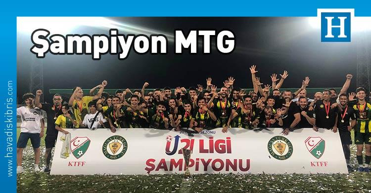 MTG, U21, Futbol, şampiyon