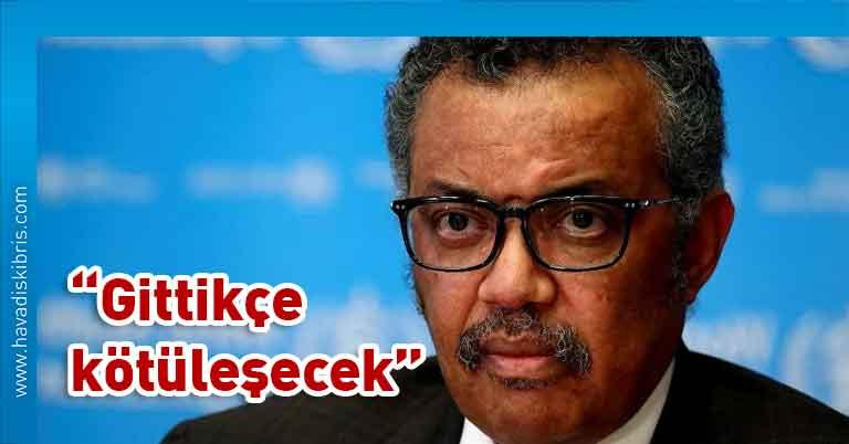 Dünya Sağlık Örgütü, Dünya Sağlık Örgütü (DSÖ) Genel Direktörü Dr. Tedros Adhanom Ghebreyesus, yeni tip koronavirüs, İsviçre, Cenevre,