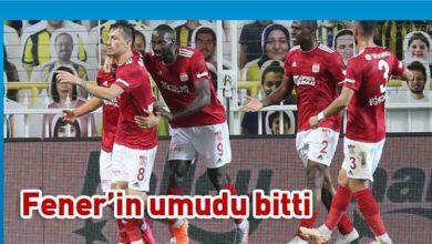 Photo of Kadıköy'de kazanan Sivasspor
