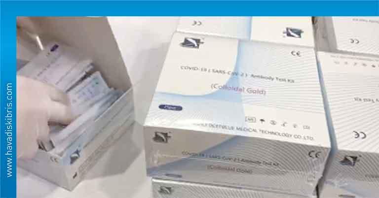 Bakanlar Kurulu, 15 bin PCR test kiti, 172 bin 500 ABD Doları
