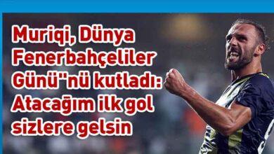 Photo of Vedat Muriqi'den Kıbrıslı Fenerbahçe taraftarlarına mesaj