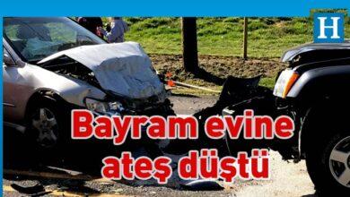 Photo of Bordür taşlarına çarpıp takla atan araçta Ahmet Yıldırım hayatını kaybetti