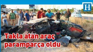 Photo of Mağusa'da çarpışma: Can kaybı yok