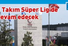 "Photo of Süper Lig'de tarihi ""küme düşme"" kararı"