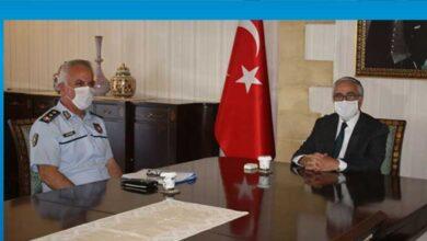 Photo of Cumhurbaşkanı Akıncı, Polis Genel Müdürü Soyalan'ı kabul etti