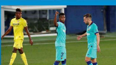 Photo of Barcelona'nın 9 bininci golü, 17 yaşındaki Ansu Fati'den geldi
