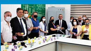 Photo of BEAL'de öğretmenler el sabunu üretti