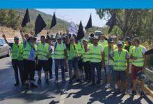 Photo of Birleşik Eylem Komitesi, Girne'den Lefkoşa'ya yürüyor