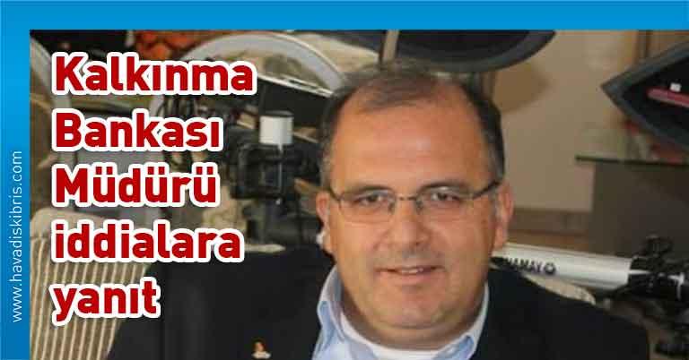 Kalkınma Bankası Müdürü Saffet Barutcu