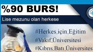 Photo of Kıbrıs Batı Üniversitesi'nin YÖK'ten onay aldığı açıklandı