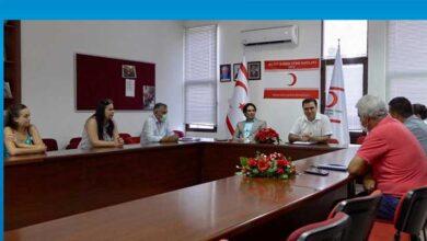 Photo of Kuzey Kıbrıs Türk Kızılayı'nda görev dağılımı yapıldı