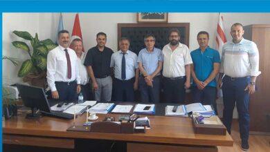 Photo of KTEMB Heyeti Kıb-Tek Yönetim Kurulu'nu ziyaret etti