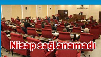 Photo of Meclis Genel Kurulu'nda nisap düştü